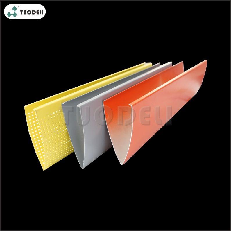 Aluminum V-shaped Baffle Ceiling System