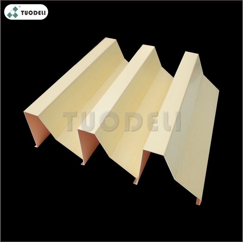 Aluminum Special Shaped Baffle Ceiling System