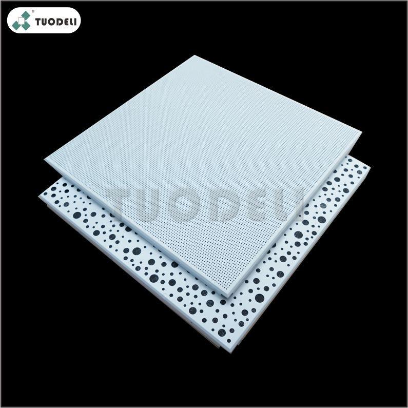 Piastrella per soffitto commerciale a clip zincata 600 * 600mm