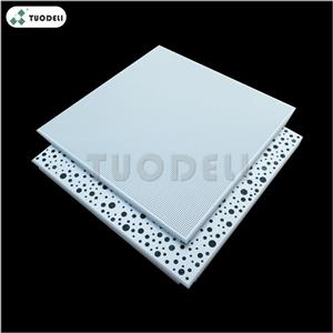600*600mm Galvanized Clip-in Commercial Ceiling Tile