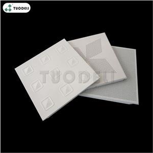 300*300mm Aluminum Clip-in Commercial Ceiling Tile