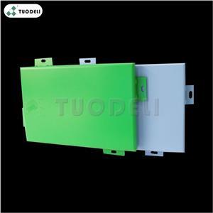 PVDF/PE Aluminum Exterior Curtain Wall