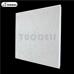 400*400mm Aluminum Clip-in Commercial Ceiling Tile