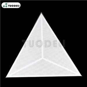 1200*1200*1200mm Aluminum Triangle Type Ceiling System