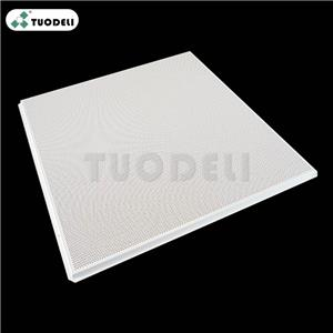 300*300mm Aluminum Lay-in Commercial Ceiling Tile
