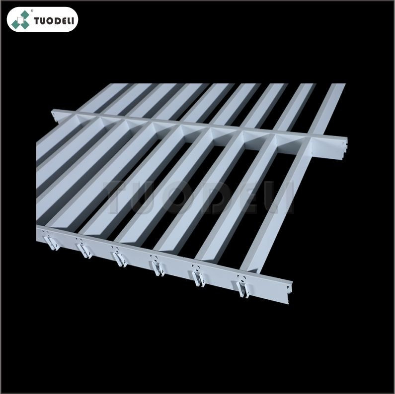 Galvanized Open Cell Ceiling System Manufacturers, Galvanized Open Cell Ceiling System Factory, Supply Galvanized Open Cell Ceiling System