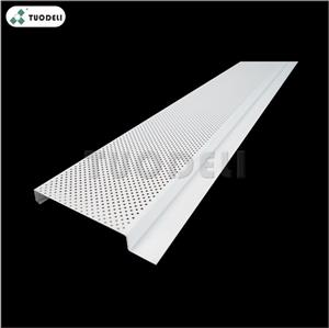 Aluminum 200mm G-shaped Linear Ceiling System