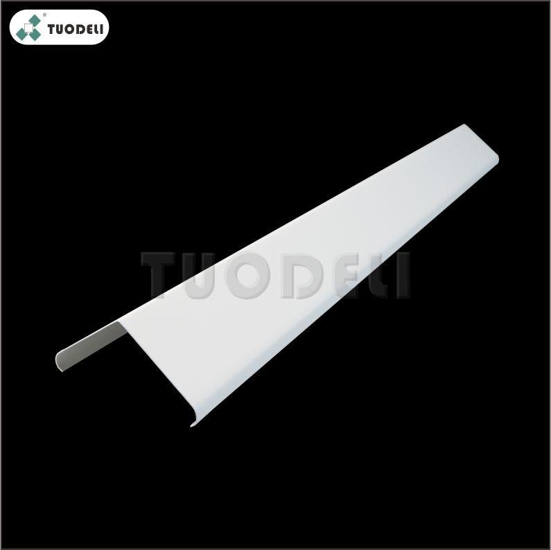 Aluminum V-shaped Linear Ceiling System