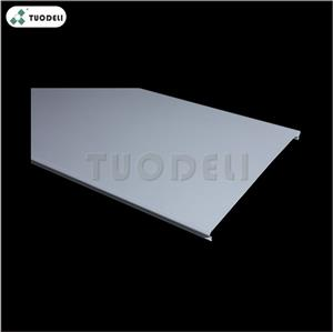 Aluminum 200mm C-shaped Closed Linear Ceiling System