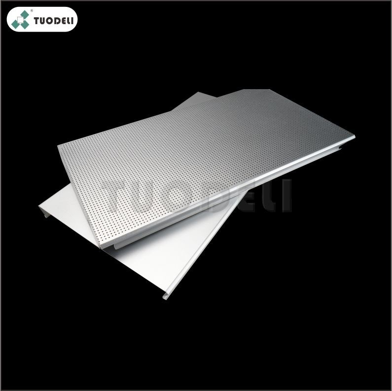 Aluminum 400mm C-shaped Wind-resistant Linear Ceiling System