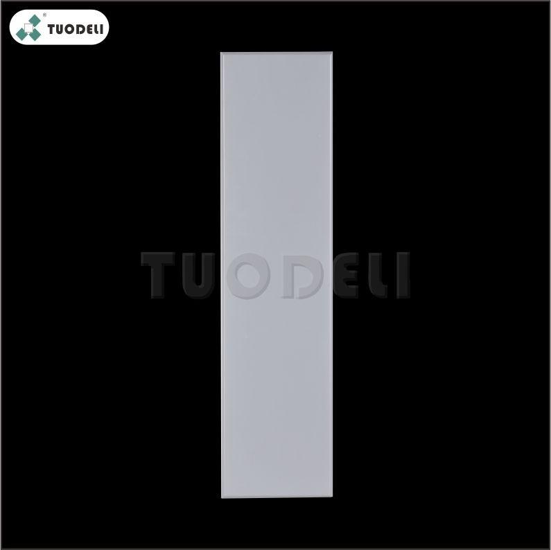 Piastrella per controsoffitto commerciale a clip in alluminio 150 * 600 mm