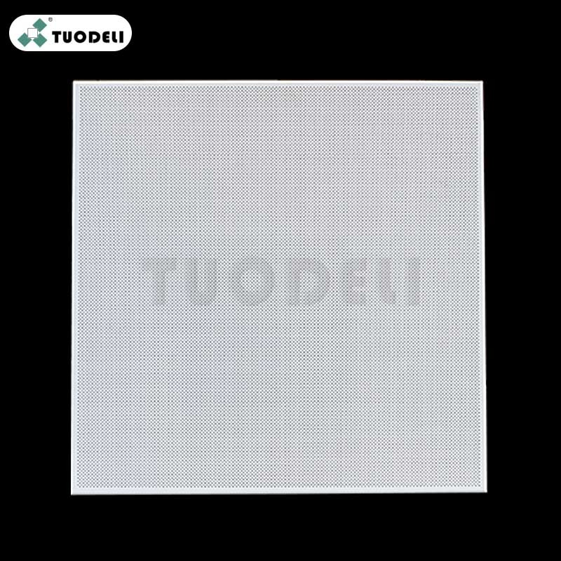 600*600mm Aluminum Clip-in Commercial Ceiling Tile