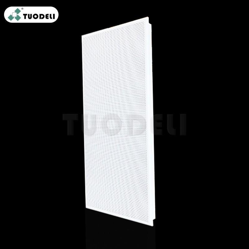 Piastrella per controsoffitto commerciale a clip in alluminio 600 * 1200 mm