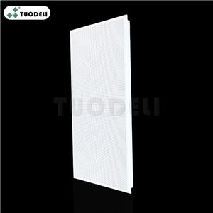 600*1200mm Aluminum Clip-in Commercial Ceiling Tile