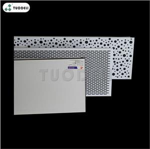 800*1600mm Aluminum Clip-in Commercial Ceiling Tile
