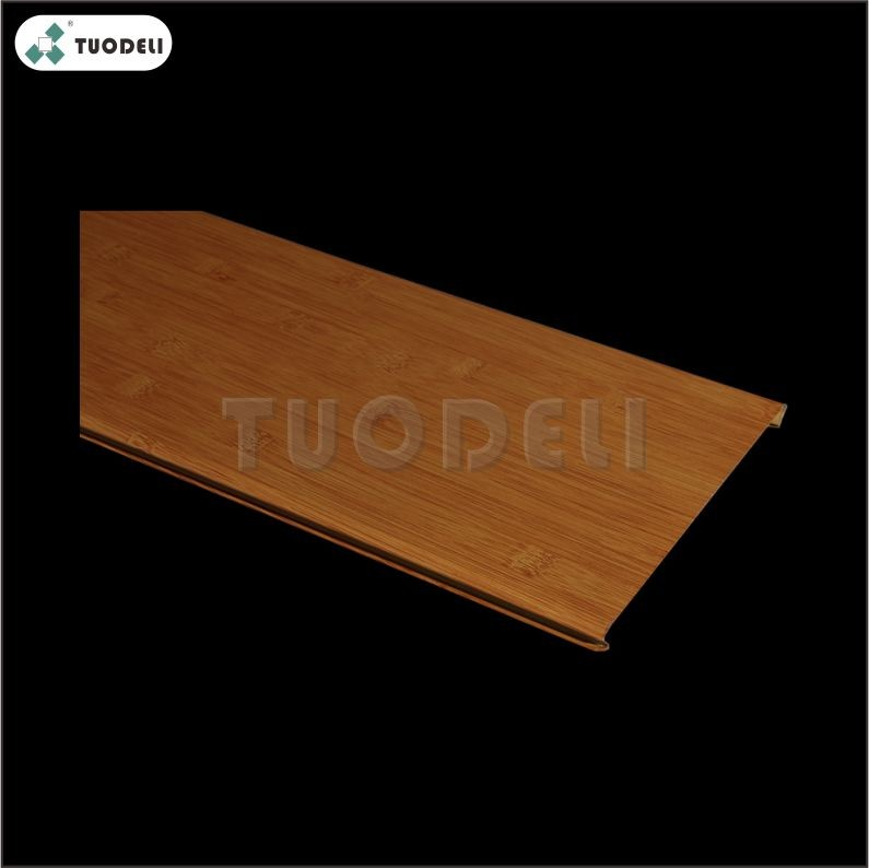Aluminum 100mm C-shaped Closed Linear Ceiling System