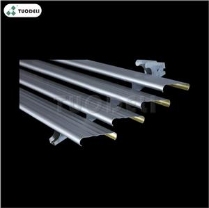 Aluminum U-shaped Linear With Small Strip Ceiling System