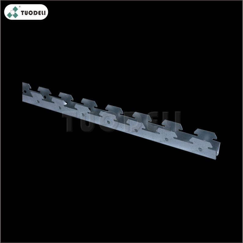 Galvanized G-shaped Linear Carrier