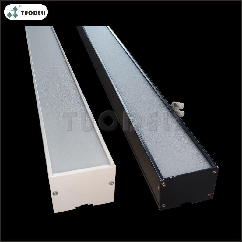 Lampada da soffitto a LED a forma di U in alluminio