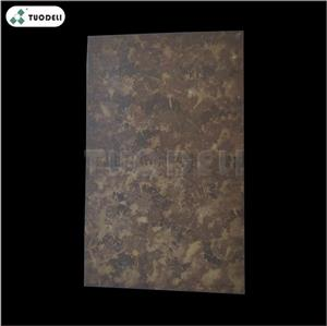 Oxidation effect aluminum surface treatment