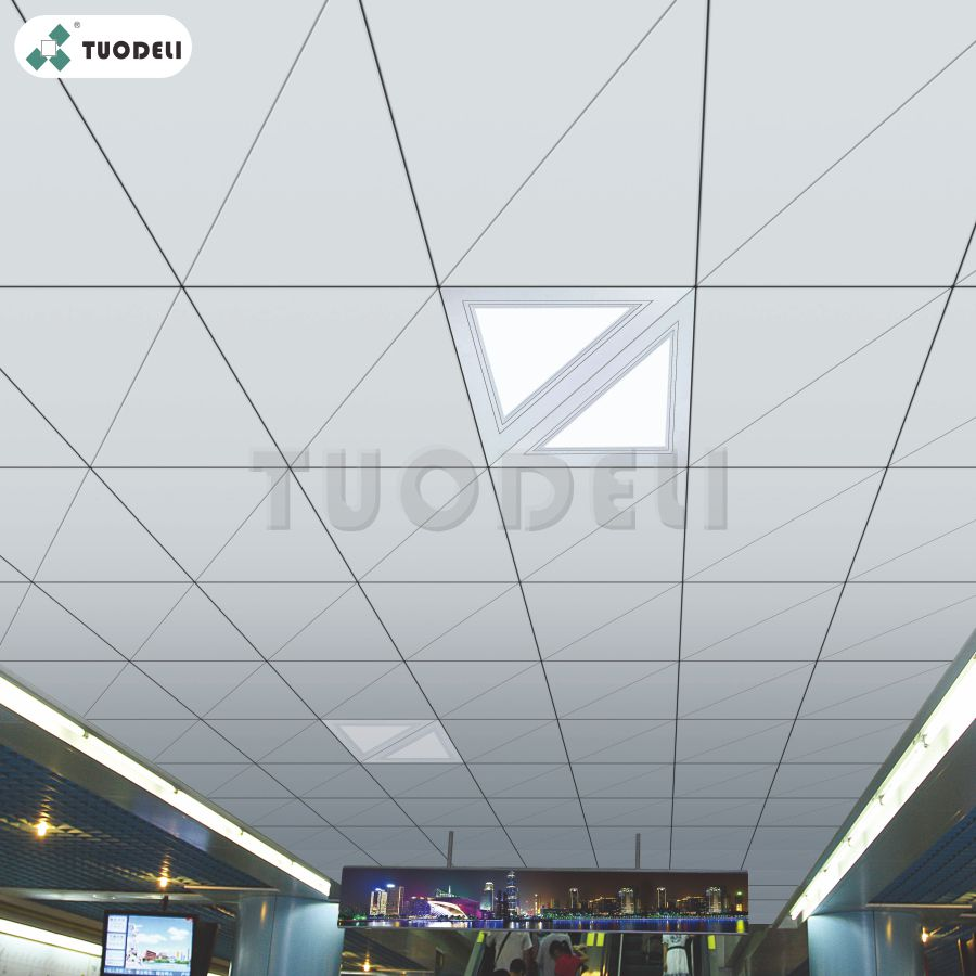 Triangle Aluminum Tiles