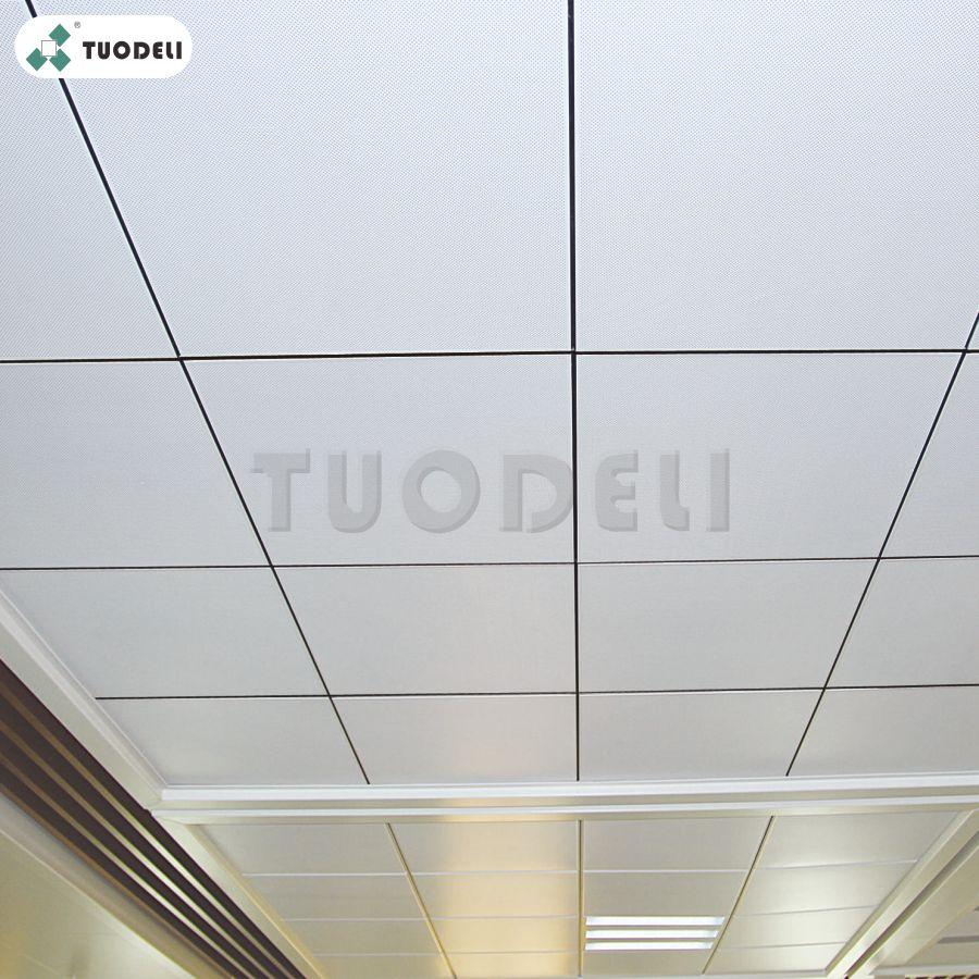 Plain ceiling tiles