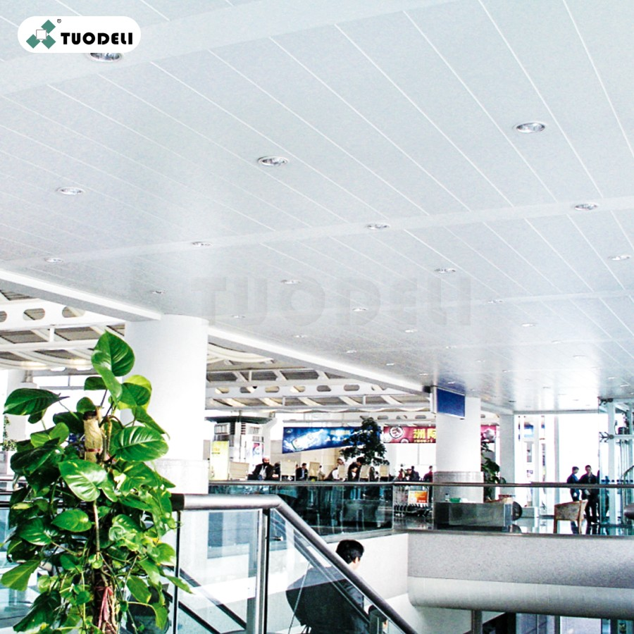 300mm C-shaped Wind-resistant Linear Ceiling