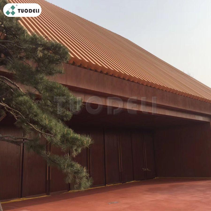 Wood Grain Aluminum Composite Panel