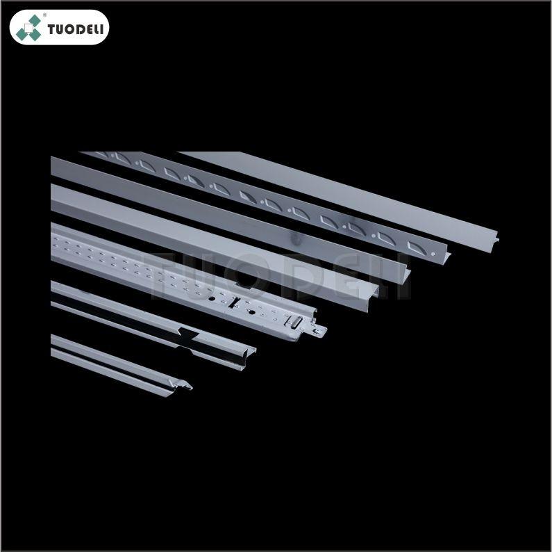 Plafond suspendu Aluminium U Groove T-Grid