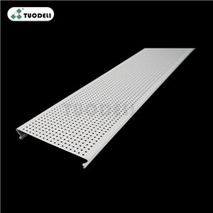 Aluminum 150mm C-shaped Closed Linear Ceiling System