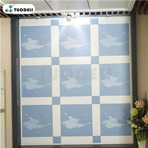 Aluminum Clip-in Combination Ceiling Tiles