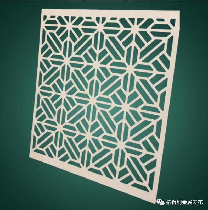Aluminum carving panel