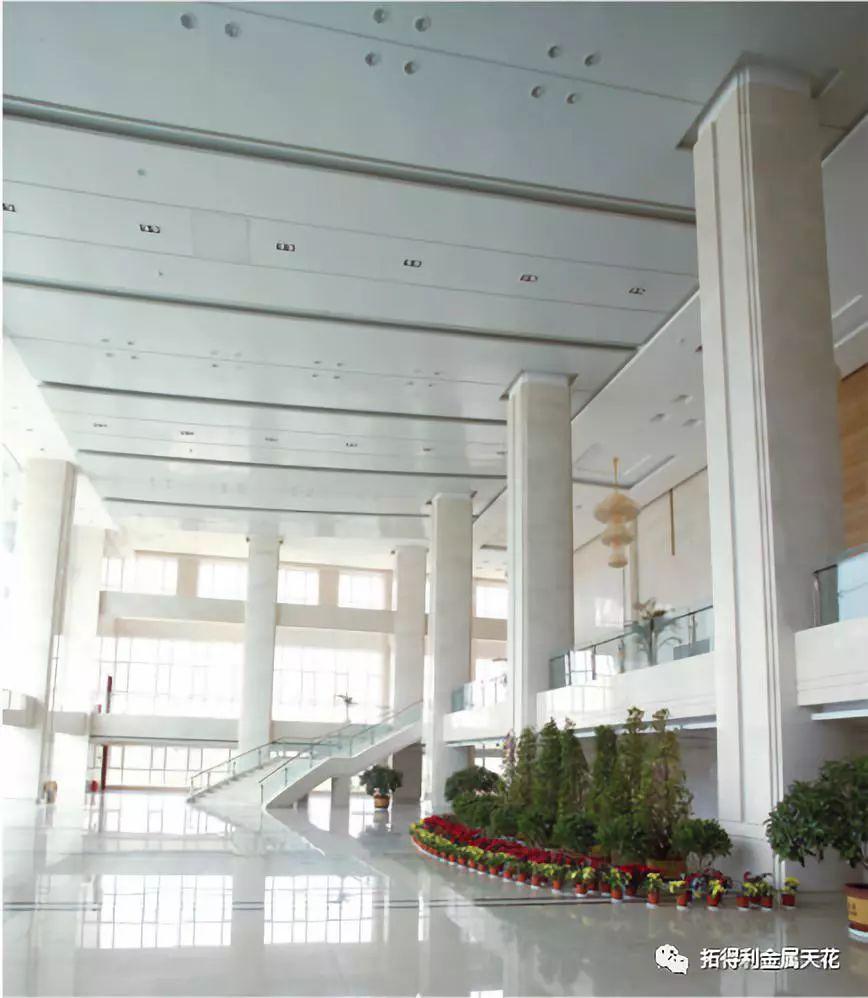 Corrugated Composite Ceiling Tile