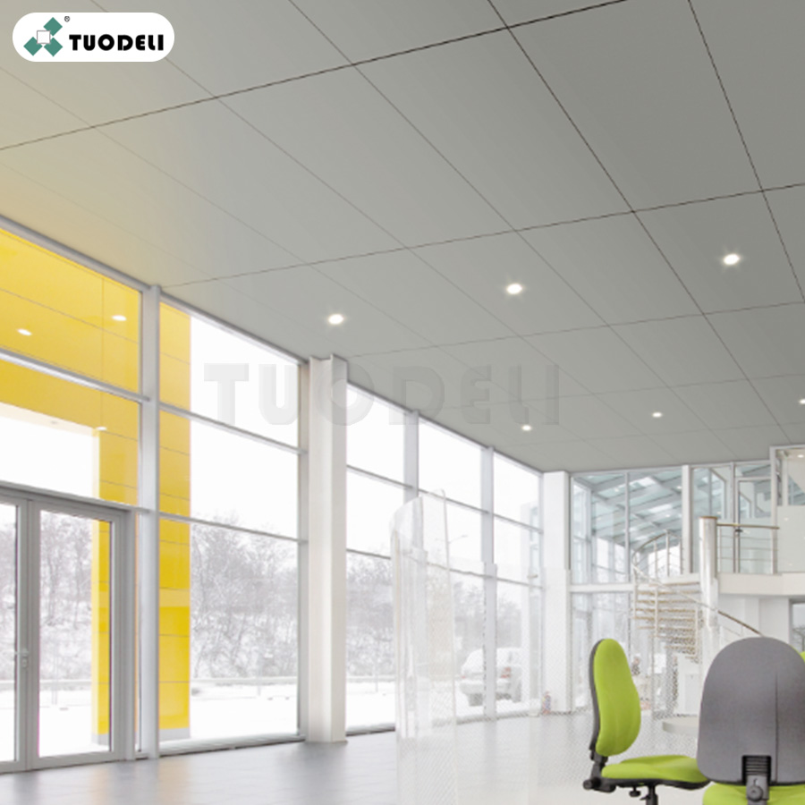 Plain Lay-in ceiling tiles