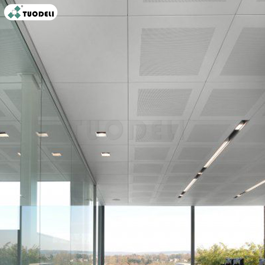 Galvanized Acoustic Ceiling Tiles