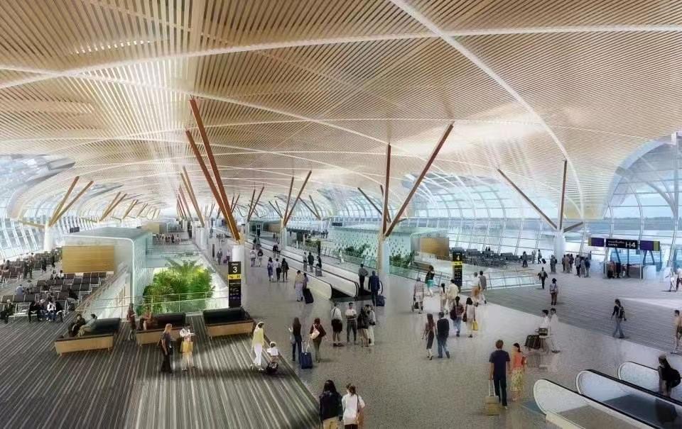 Suvarnabhumi Intrrnational Airport ceiling (Phase Ⅱ)