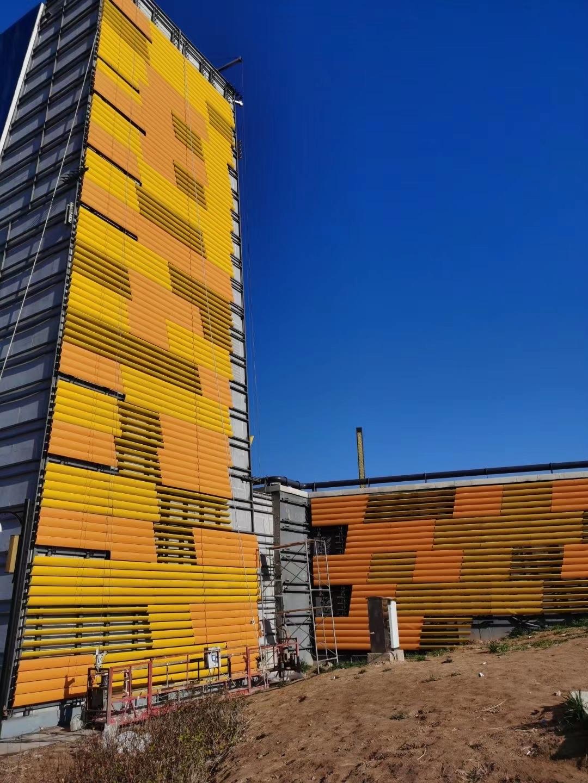TDL facade project of Tiyuan Binhai Sport Center