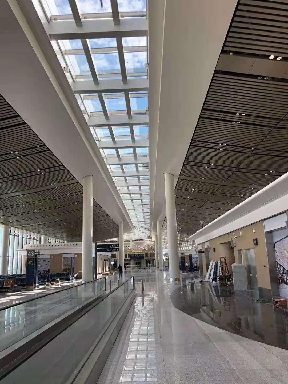 aluminum U shaped baffle ceilingbaffle ceiilng