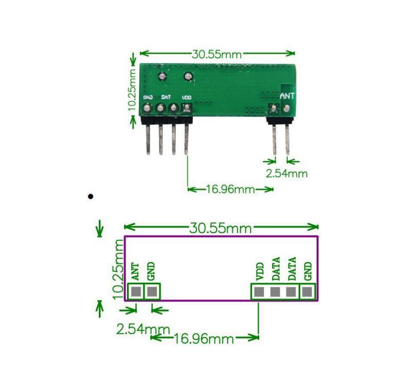 433mhz receiver module