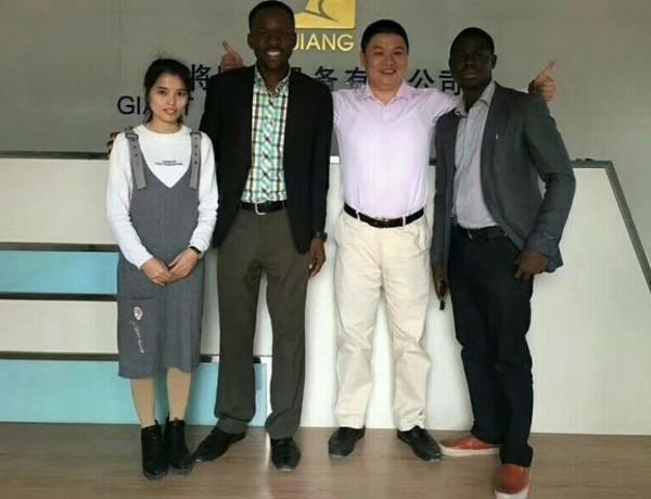 Notre client coopératif d'Afrique
