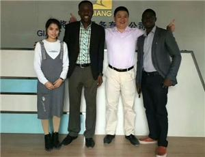 Our cooperative customer from Africa
