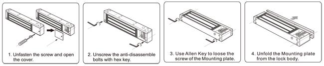 fechadura magnética elétrica