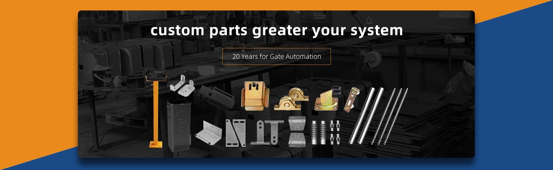 la producción de hardware personalizado