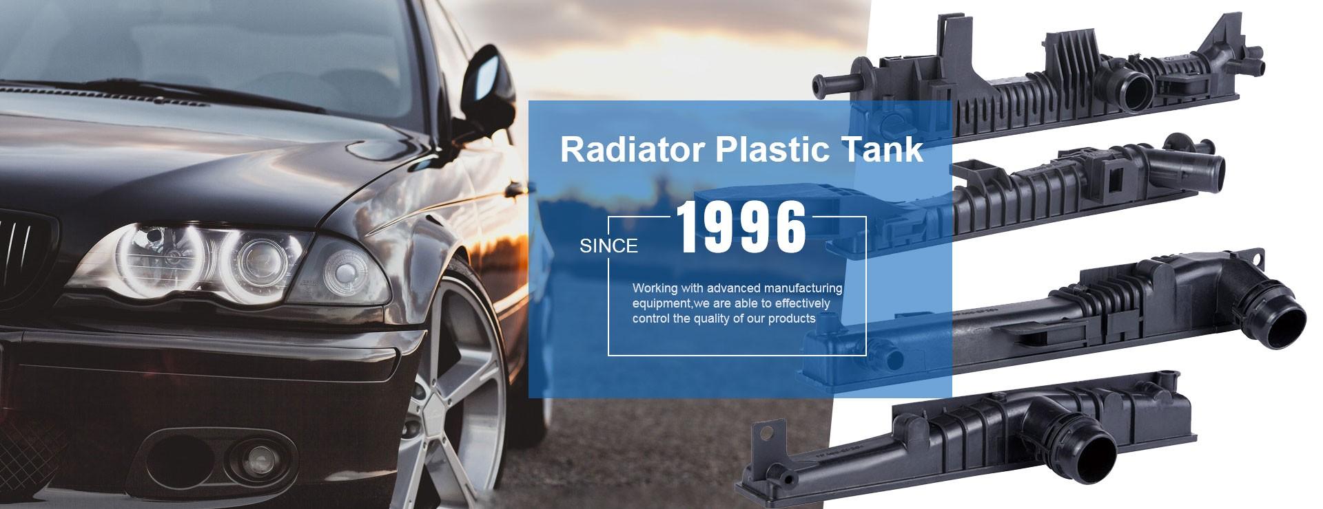 Tanque de radiador de coche americano