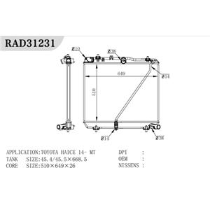 Various Truck Radiator
