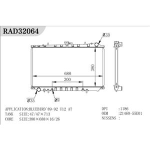 Radiador de aluminio caliente
