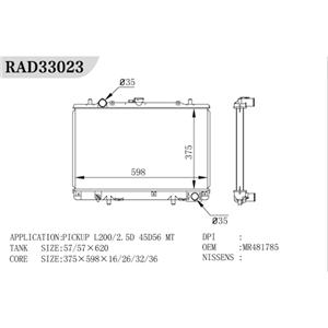 Radiador generador