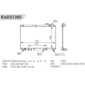 Pressure Tester Radiator