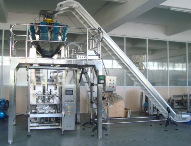 inclined feed conveyor