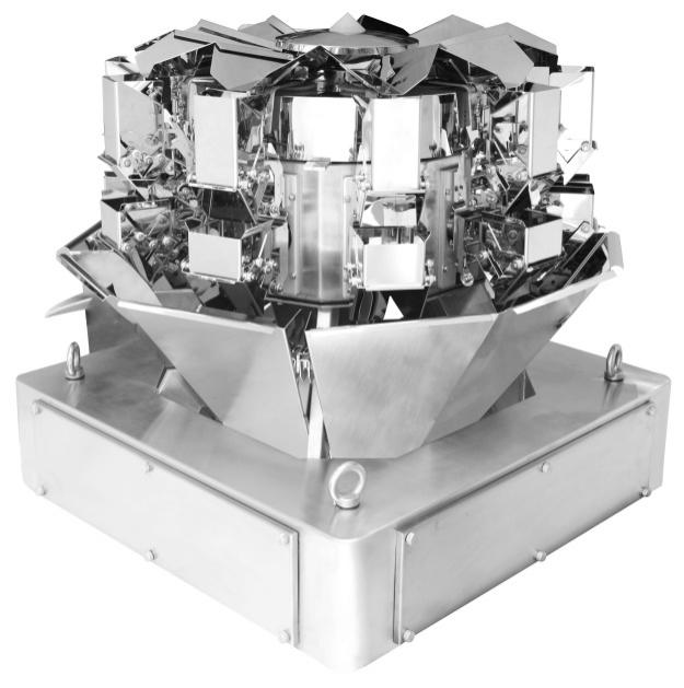 10 heads compact multiweigher